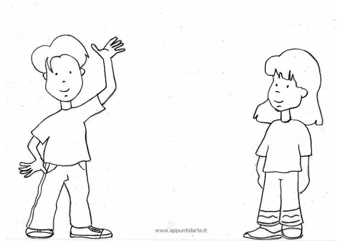 Appunti d 39 arte disegni da colorare for Calciatori da colorare per bambini